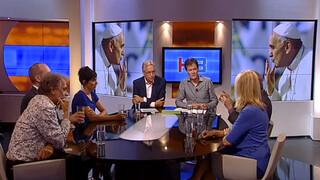 Knevel & Van den Brink Antoine Bodar, Gert-Jan Segers en Liesbeth van Tongeren, Marijn de Vries