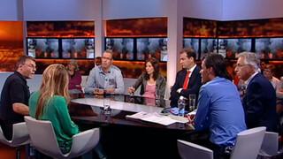 Knevel & Van den Brink Lodewijk Asscher, Arno en Marije Veenstra, Jetske van den Elsen, Jos Strengholt,