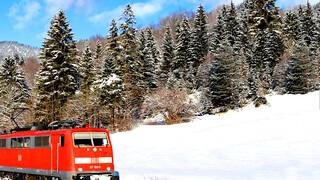 Rail Away Duitsland-Oostenrijk:Karwendelbahn