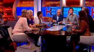Knevel & Van den Brink Eveline Rethmeier, Henk Krol, Marlène de Wouters, Anita Witzier en Diana