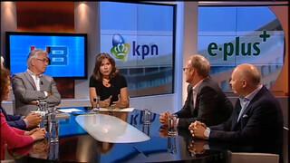 Knevel & Van den Brink Pieter Waterdrinker, Jan Slagter, Peter Paul de Vries, Marian van Zon en gastpresentator Astrid Kersseboom