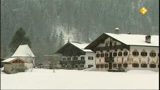 GeoClips Leven met lawines in de Alpen