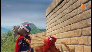 Super Grover 2.0 Waarom klom de kip de muur over?