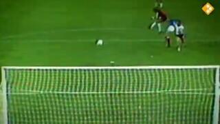 WK Voetbal 1982: botsing Schumacher