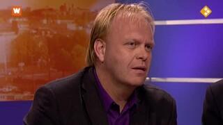 Niewsdesk: minister Gerd Leers en campaign watcher Frits Huffnagel