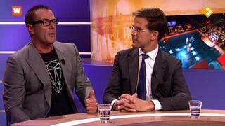 Nieuwsdesk: Mark Rutte en Gerard Joling