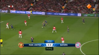 NOS UEFA Champions League Live NOS UEFA Champions League Live, wedstrijdanalyse Manchester United - Bayern München