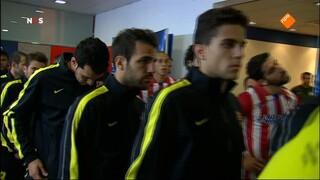NOS UEFA Champions League Live NOS UEFA Champions League Live, 1ste helft Atlético Madrid - FC Barcelona