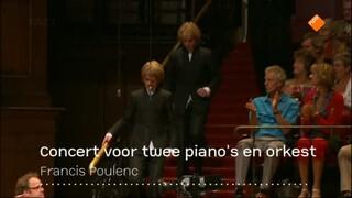Arthur en Lucas Jussen spelen Poulenc