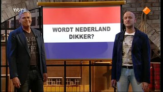 Wordt Nederland dikker?