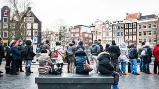 In de rij voor Anne Frank