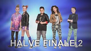 Junior Songfestival Report 13: Wie zijn de finalisten 2e halve finale?