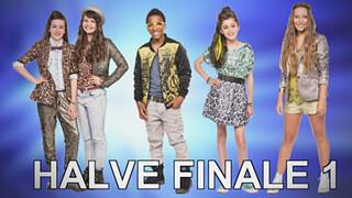 Junior Songfestival Report 12: Wie zijn de finalisten 1e halve finale?