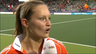 NOS Studio Sport NOS Studio Sport WK Hockey, nabeschouwing Nederland - Japan (v)