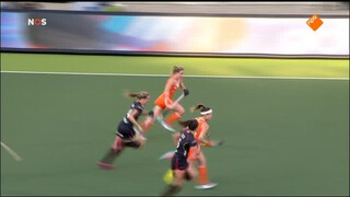NOS Studio Sport NOS Studio Sport WK Hockey, rust en 2de helft Nederland - België (v)