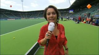 NOS Studio Sport NOS Studio Sport WK Hockey, Voorbeschouwing en 1ste helft Duitsland - Argentinië (v)