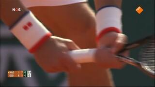 NOS Studio Sport NOS Studio Sport Tennis Roland Garros finale heren