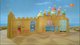 Het Zandkasteel - Verkopen Op Een Kleedje