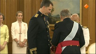 Nos Inhuldiging Spaanse Koning - Nos Inhuldiging Spaanse Koning