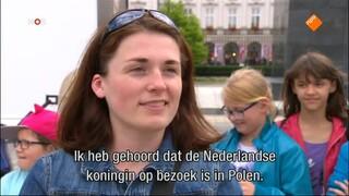 NOS Koningspaar in Polen