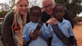 Jan en Céline in actie voor Zambia