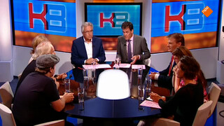 Pieter Omtzigt, Beatrice de Graaf, Tinkebell, Marielle van Uitert, Nico Dijkshoorn en Tim Knol
