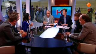 Alexander Bakker, Richard de Mos, Pari Ibrahim, Jean van de Velde en Mark Tuitert