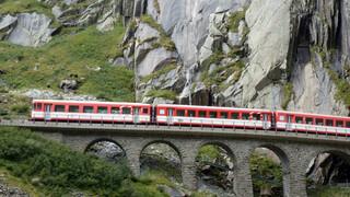 Rail Away - Zwitserland: Flüelen - Göschenen - Realp - Furka