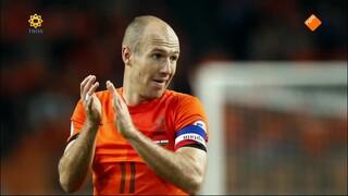 TV Show Arjen Robben en Arthur en Lucas Jussen