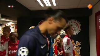 NOS UEFA Champions League Live NOS UEFA Champions League Live, 1ste helft Ajax - Paris Saint Germain