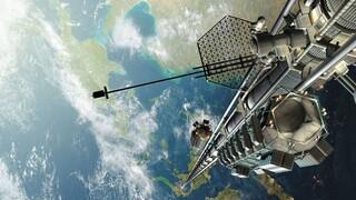 Vanaf 2050 voor een prikkie naar de ruimte