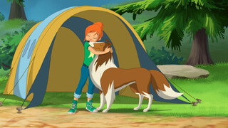 Lassie Animated De schat van Ben Montana