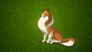 Lassie Animated - Bosbrand!