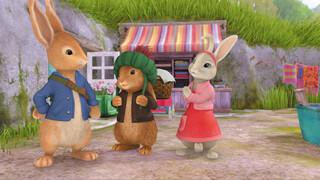 Pieter Konijn Het verhaal van de kiekeboe konijnen
