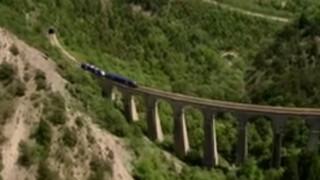 Rail Away - Frankrijk: Durance-lijn: Grenoble - Briancon
