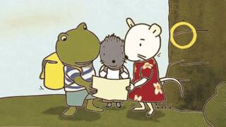 Detectives Nellie en Cezar/Sporen van dieren!