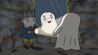 Het kleine spookje Laban Millimina is verdwenen