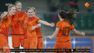 Oranjeheldinnen door naar WK!