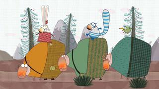 Pipi, Pupu & Rosemarie Het regent pijpenstelen