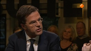 Buitenhof - Premier Mark Rutte