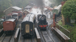 Rail Away - Groot-brittannië: North Yorkshire Moors Railway, Pickering - Grosmont