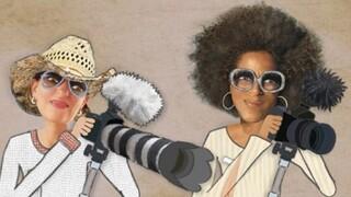 Filmmakers Annegr� Bosman en Mildred Roethof van Pluk Media