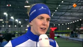Nos Studio Sport - Schaatsen Nk Sprint Groningen
