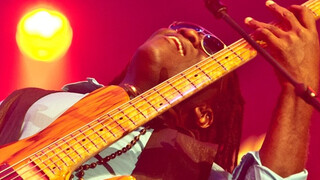 Bassist Richard Bona op North Sea Jazz 2013