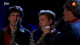 Amstel Quartet speelt symfonie van Brahms
