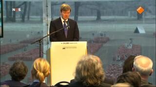 NOS 70 jaar bevrijding: Herdenking Auschwitz