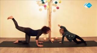 Ouder-kind yoga Zonnegroet