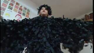 Kindertijd Ravenkostuum