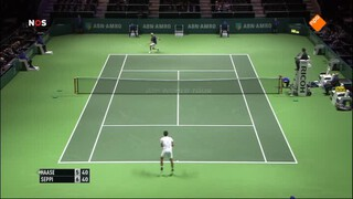 NOS Studio Sport NOS Studio Sport Tennis ABN/AMRO Toernooi