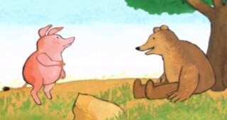 Kindertijd De beer en het varkentje